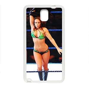 Samsung Galaxy Note 3 Case,Wwe Divas Wrestling White Customized Phone Case For Samsung Galaxy Note 3
