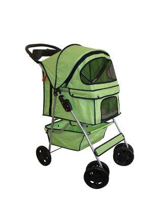 Bestpet 4 Wheels Pet Dog Cat Stroller - 5