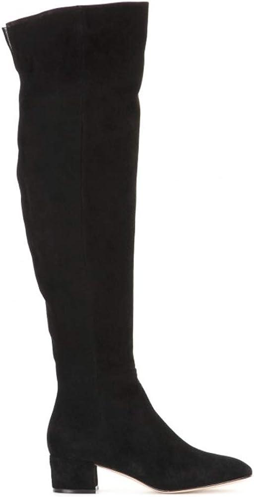 Zidao Para mujer Rodilla Botas, Botas Damas Otoño Invierno Moda de Nueva Con el Bronze A9XD0