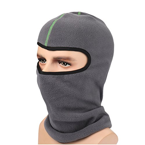 [Ezyoutdoor Unisex Windproof Thermal Fleece Outdoor Sports Full Face Mask Neck Warmer Hood Balaclava for Outdoors Snowboarding Skiing Motorcycle Hiking Fishing] (Homemade Childrens Alien Costume)
