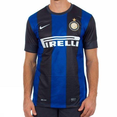 Nike Maglia Maglia Maglia Inter Home Replica Jersey Nero L | Lo stile più nuovo  | La qualità prima  | Aspetto estetico  | Prezzo di liquidazione  | Eccellente  Qualità  6a76a5