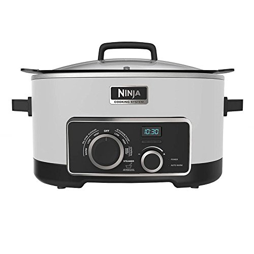 Ninja 3-In-1 Cooking System White (Certified Refurbished)