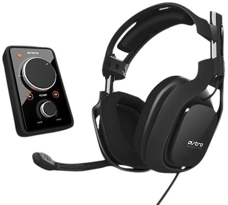 Astro A40 + MixAmp Pro - Black 7.1 Channel  Headset