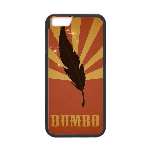Dumbo 009 coque iPhone 6 Plus 5.5 Inch Housse téléphone Noir de couverture de cas coque EOKXLLNCD18213