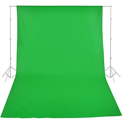 - Chromakey Green Screen Muslin Backdrop Photo Studio Photography Background 10x20'