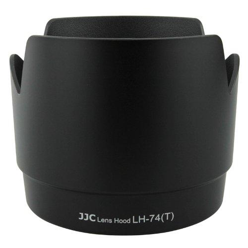 JJC Professional LH74T Black Tulip Flower Lens Hood For canon 70-200mm F 4 Lens Replaces canon ET-74 ET74
