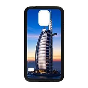 Custom Dubai Burj Al Arab Hotel Design Plastic Case for Samsung Galaxy S5 by icecream design