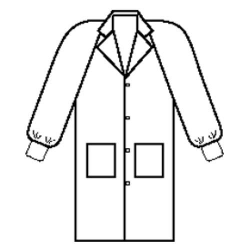 Unisex Basic Lab Coat - 8