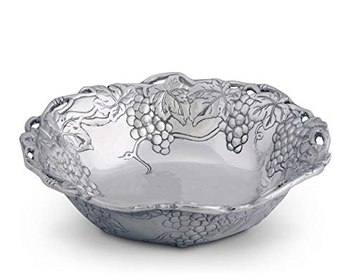 Arthur Court Grape 12-Inch Salad Bowl
