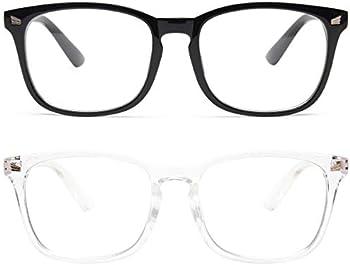 2-Pack Livho Unisex Blue Light Blocking Glasses