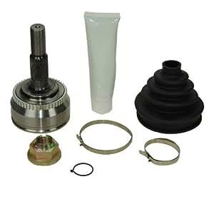 1X Kit de junta homocinética lado rueda con set de montaje , VOLVO S70 C70 V70 850 2.0 2.5 2.4 94-02, VÁLIDO PARA VEHÍCULOS SIN ABS