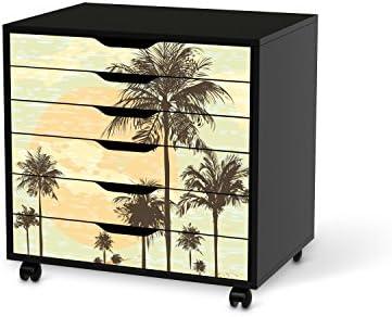 Adhesivo diseño de pegatinas de IKEA Alex escritorio-cajonera con ...