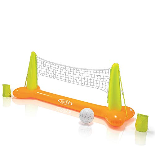 (Intex Pool Volleyball Game, 94in X 25in X 36in, for Ages 6+)