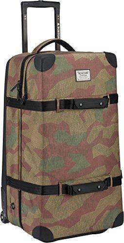 Burton Wheelie Double Deck Travel Bag, Splinter Camo Print