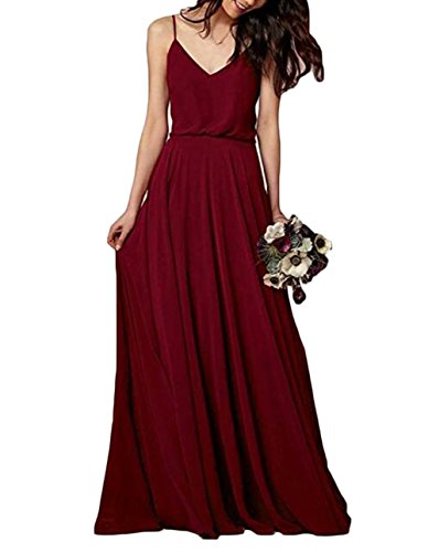 Leader of the Beauty - Vestido - para mujer rojo oscuro