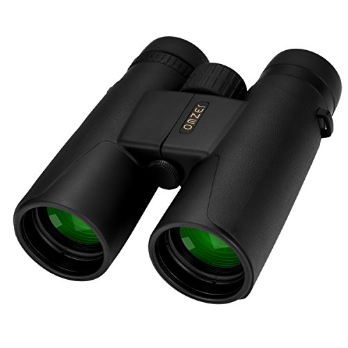 OMZER 10x42 High-powered Compact HD Binoculars With BAK4 FMC