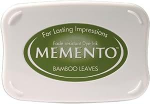Tsukineko Full-Size Memento Fade Resistant Inkpad, Bamboo Leaves