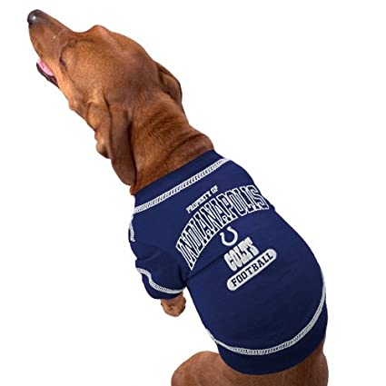 1fa992f5754 Image Unavailable. Image not available for. Color: INDIANAPOLIS COLTS Dog T- Shirt ...