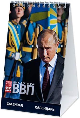 Vladimir Putin Schreibtischkalender für 2020, Größe: 10 x 16 cm