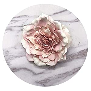 ALWAYS ME Flower Heads Decorative Scrapbooking Artificial Flower for Home Wedding Decoration Supplies,Orange 108