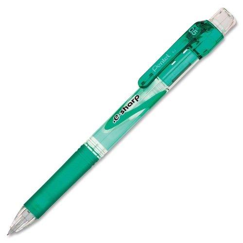 Pentel e-Sharp Mechanical Pencil - HB, #2 Pencil Grade - 0.5 mm Lead Size - Green Barrel - 1 - Ltd Pentel America Sharp