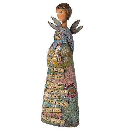 Kelly Rae Roberts New MoTher Angel Figurine