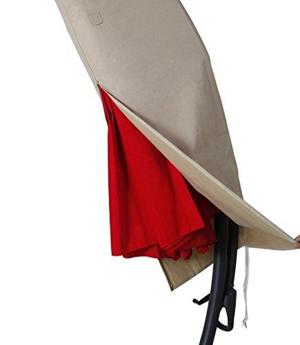 Patio Umbrella Covers With Zipper: Grand Patio Deluxe Patio Umbrella Cover For 9 To 11 FT