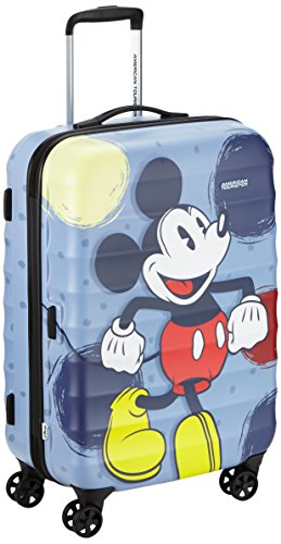 Disney By American Tourister Palm Valley Disney Valigia 67/24 Mickey, Policarbonato, 61 ml, 67 cm