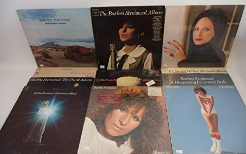 Barbra Streisand Lot of 12 Vinyl Record Albums A Happening in Central Park and more