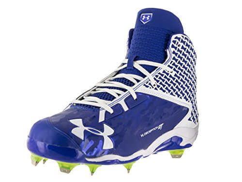 Under Armour Men's UA Deception Mid DiamondTips Baseball Cleats — All-Star Game Edition Royal/White clearance professional free shipping original QV4ZNVHnG