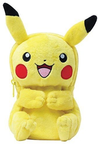 HORI Pikachu Plush Pouch for New Nintendo 3DS XL Officially Licensed by Nintendo & Pokemon – Nintendo 3DS;