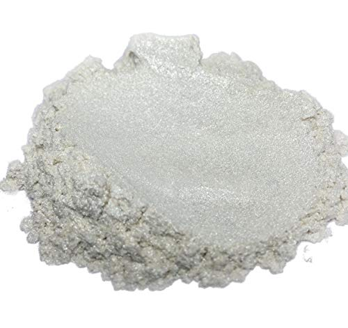 "42g/1.5oz""Pure Pearl White"" Mica Powder Pigment (Epoxy,Resin,Soap,Plastidip) Black Diamond Pigments"
