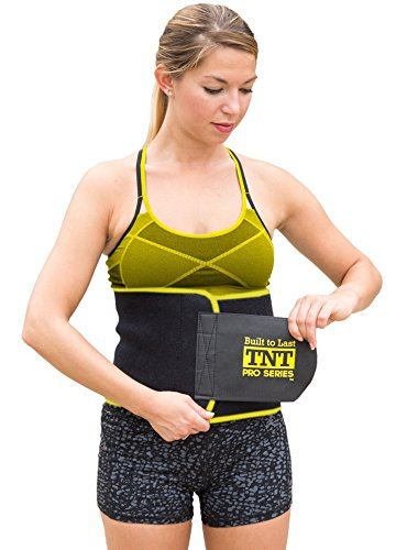 3c270ebe299 TNT Pro Series Waist Trimmer Weight Loss Ab Belt - Premium Stomach Fat  Burner Wrap and