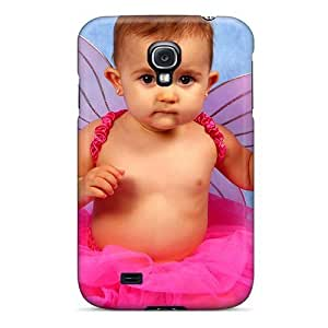 New Design Shatterproof NEobSZx4142HIpgG Case For Galaxy S4 (cute Baby Girl)
