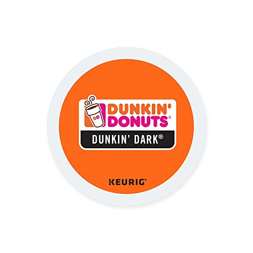 Dunkin Donuts K-cups Dark Roast - 24 Kcups for Use in Keurig Coffee Brewers 5.1oz