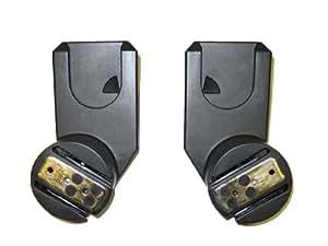 Quinny SPQ6569520 - Adaptadores para capazo para sillas de paseo Zapp y Zapp Extra