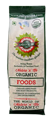 Nature 'n' Me Organic Channa Dal Split Bengal Gram/ Split Chickpea 17.64 oz/ 500 gm- USDA Certified (Split Channa compare prices)
