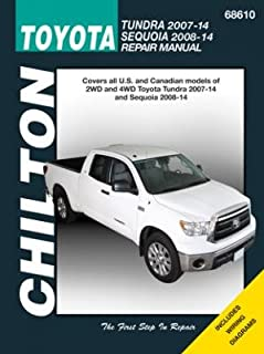 amazon com haynes repair manuals toyota tundra 2007 2014 and rh amazon com Tundra Manual Inside 2018 Tundra Manual Inside