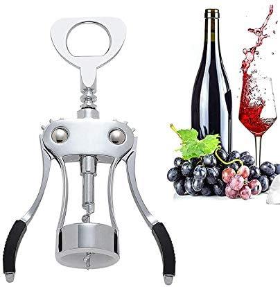 Seglory Sacacorchos para vino, abrebotellas multifunción de aleación de zinc, abrebotellas con abrebotellas, abridor de botellas de vino para vino, prosecco y cerveza, regalo de vino