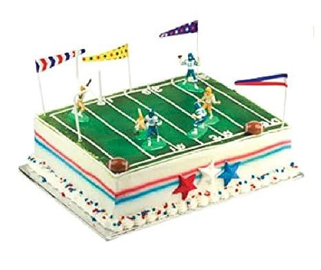 Amazon.com: Oasis Fuente Touchdown fútbol Kit de decoración ...
