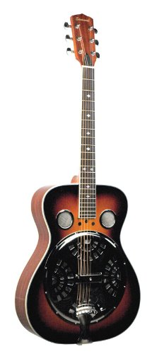Savannah SR-200-SN Chicago Blues Resonator Guitar, Sunburst