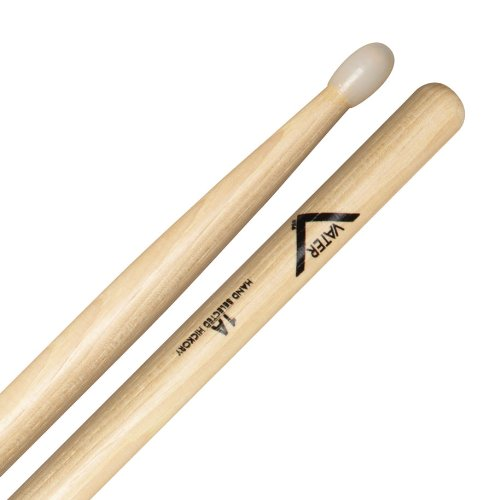 B0002CZQLO Vater Percussion 1A Drumsticks, Nylon Tip 41dkei5DfkL