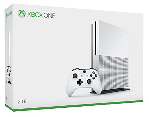 Xbox One S 2TB Console - Launch Edition [Discontinued] (Ps4 Pro Won T Play 4k Blu Ray)