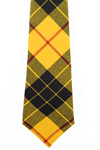 - MacLeod Dress Modern Tartan Wool Necktie USA Kilts