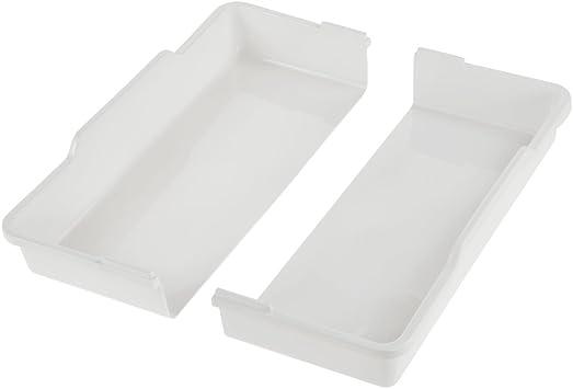 Blanca 38 x 42,5 x 7,5 cm 13 compartimentos keeeper Bandeja para cubiertos con accesorio deslizable para utensilios peque/ños Inserci/ón en caj/ón Filippa