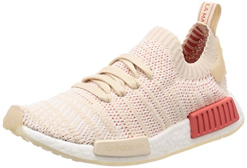0 Footwear Stlt Sneakers adidas Beige Linen Primeknit Crystal White Femme White Basses NMD r1 qFHO6P4