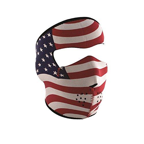 Stars And Stripes Motorcycle Helmet - 3