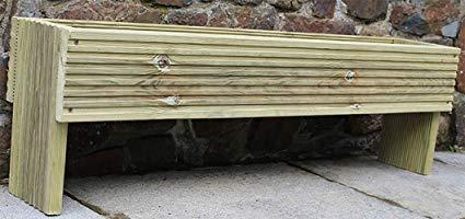 Devonshire Wood Hand Made Raised Decking Flower Herb Vegetable Trough, Planter 120cm long x 30cm high Smartplatypus