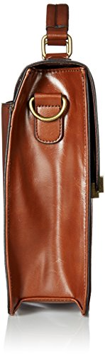 Handle Aldo Handbag Cognac Top Hallock HHrwqfE