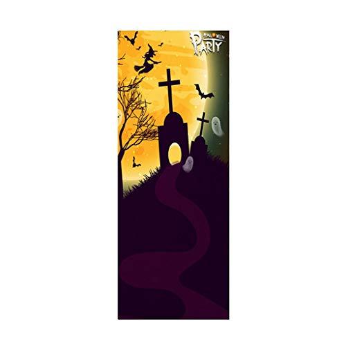 Wilkinsons Halloween Products - PAQOZ Halloween Creative Funny Door Stickers
